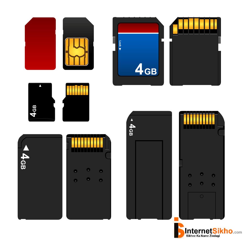 memory card कैसे काम करता है?