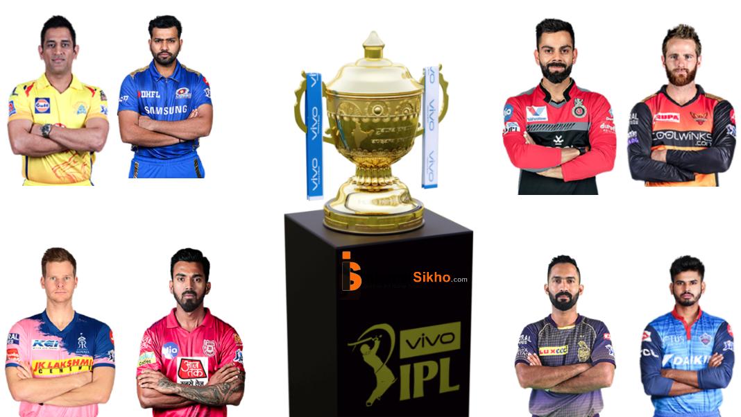 VIVO IPL 2020 Schedule , iPL 2020 Time Table,IPL 2020 Players List
