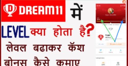 Dream 11 Me Level Kya Hota Hai?